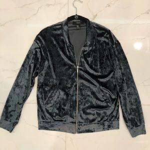 Forever21 Velvet Jacket